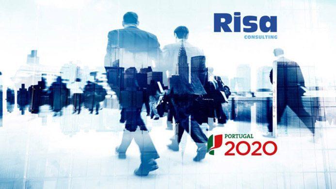 Risa Consulting, candidatura a fundos comunitários, portugal 2020, banner